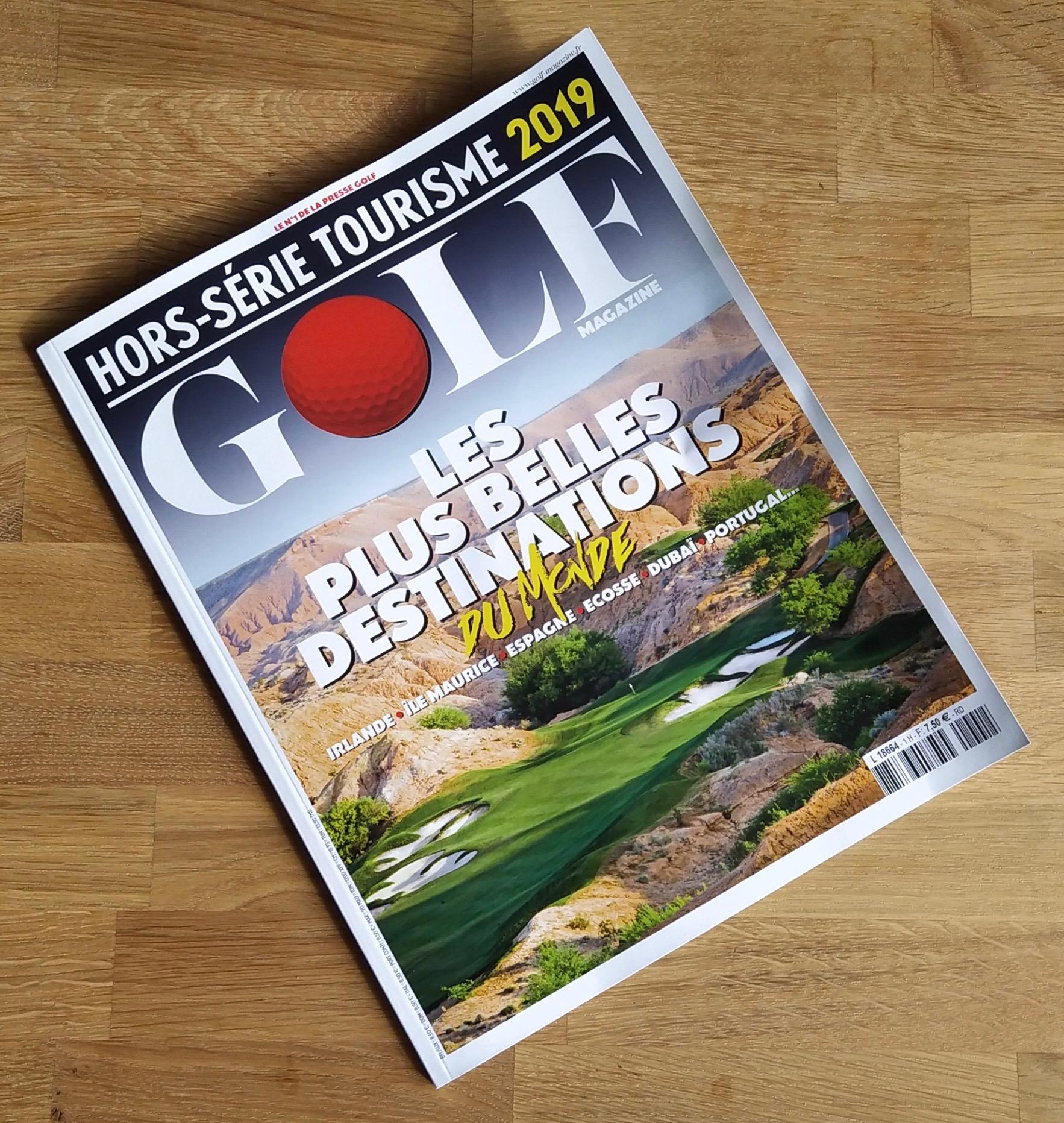 fandegolf.fr mon premier magazine