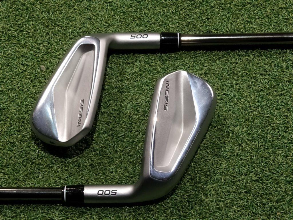 série de club de golfs - série 500 inesis - fandegolf.fr