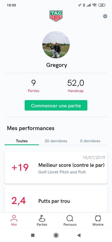 accueil tag heuer golf - fandegolf.fr