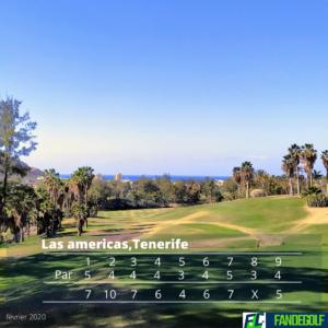 fandegolf.fr - carte score - golf las americas, tenerife