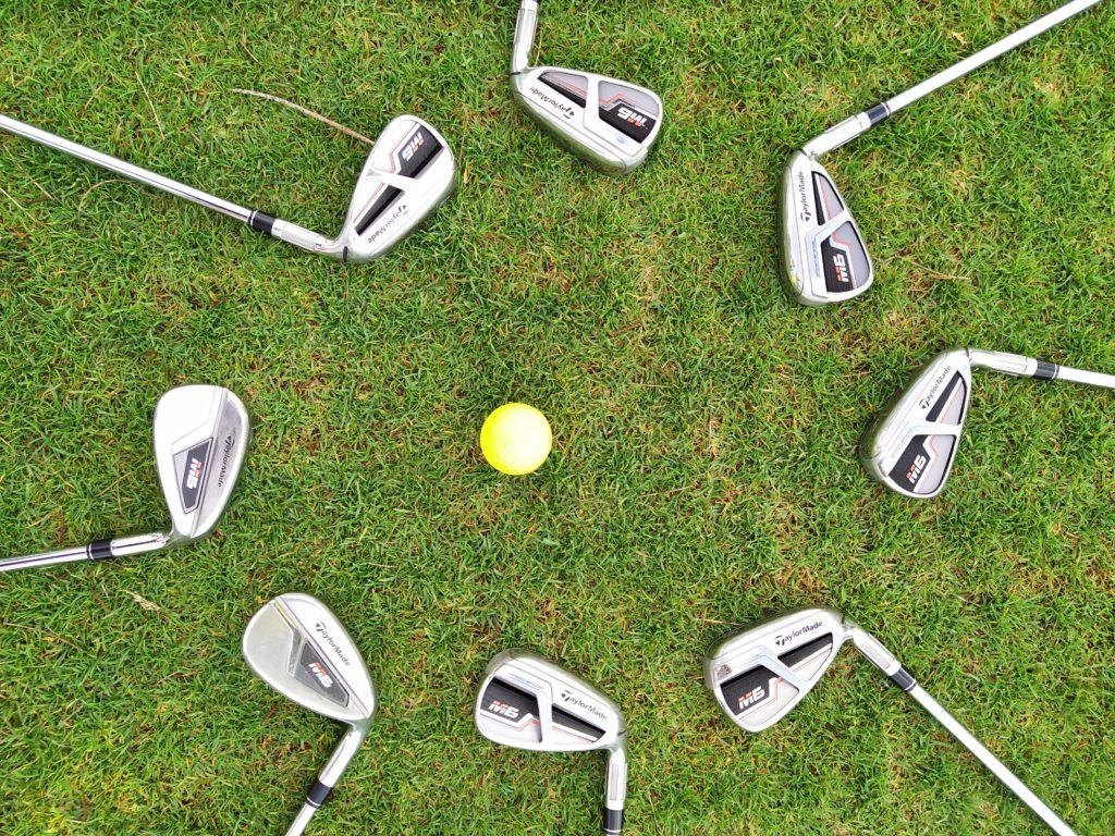 fandegolf.fr - comment jouer au golf sans club - série de fers taylormade m6 steel