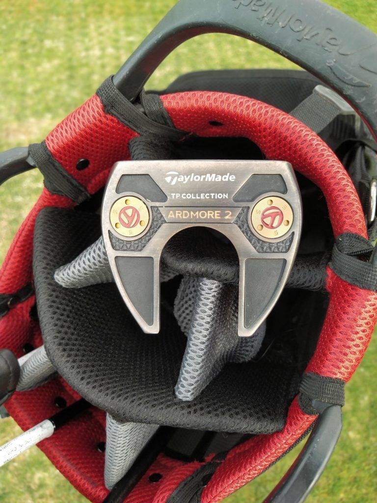 fandegolf.fr - comment jouer au golf sans club - putter talylormade tpcollection ardmore 2