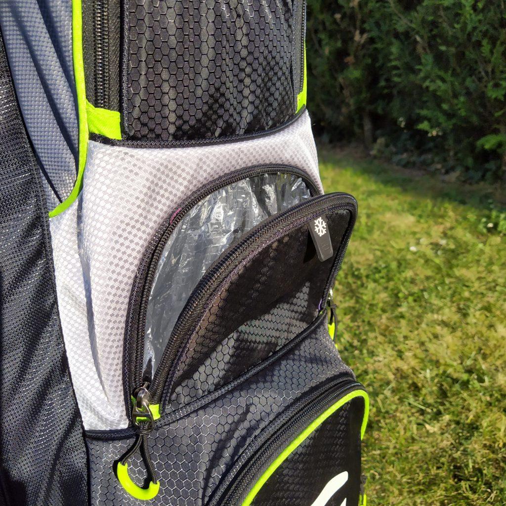fandegolf - sac de golf - compartiment isotherme