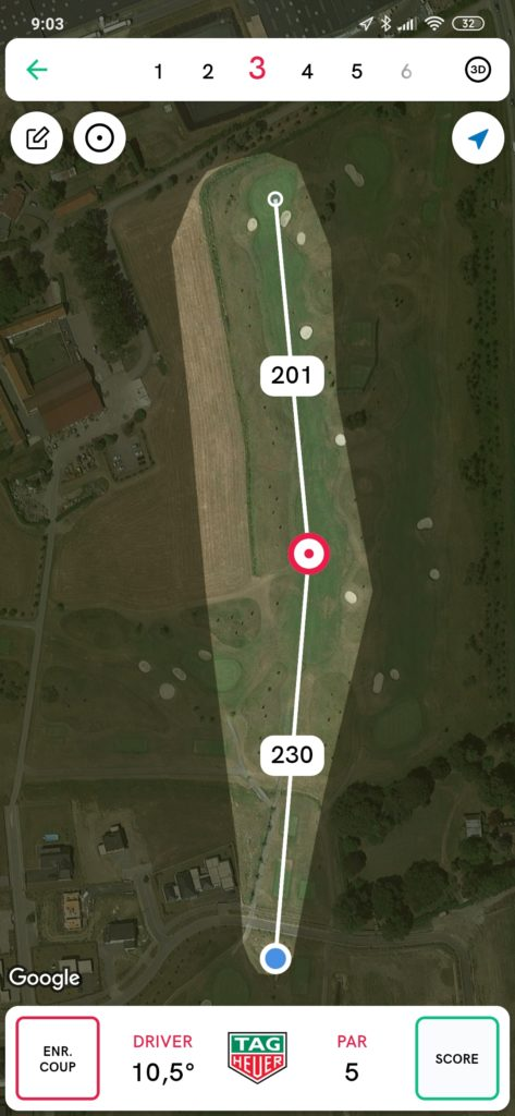 fandegolf.fr - application golf tag heuer