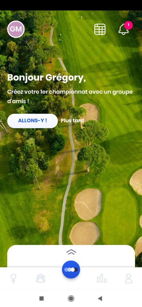 fandegolf.fr - application golf kady ffgolf