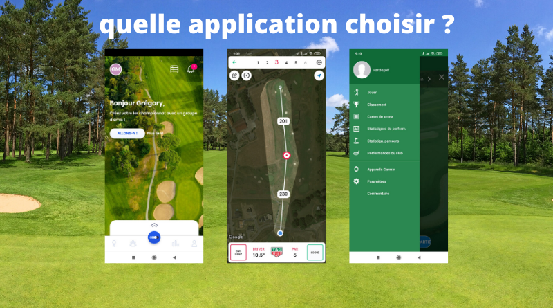 fandegolf.fr - quelle application de golf choisir