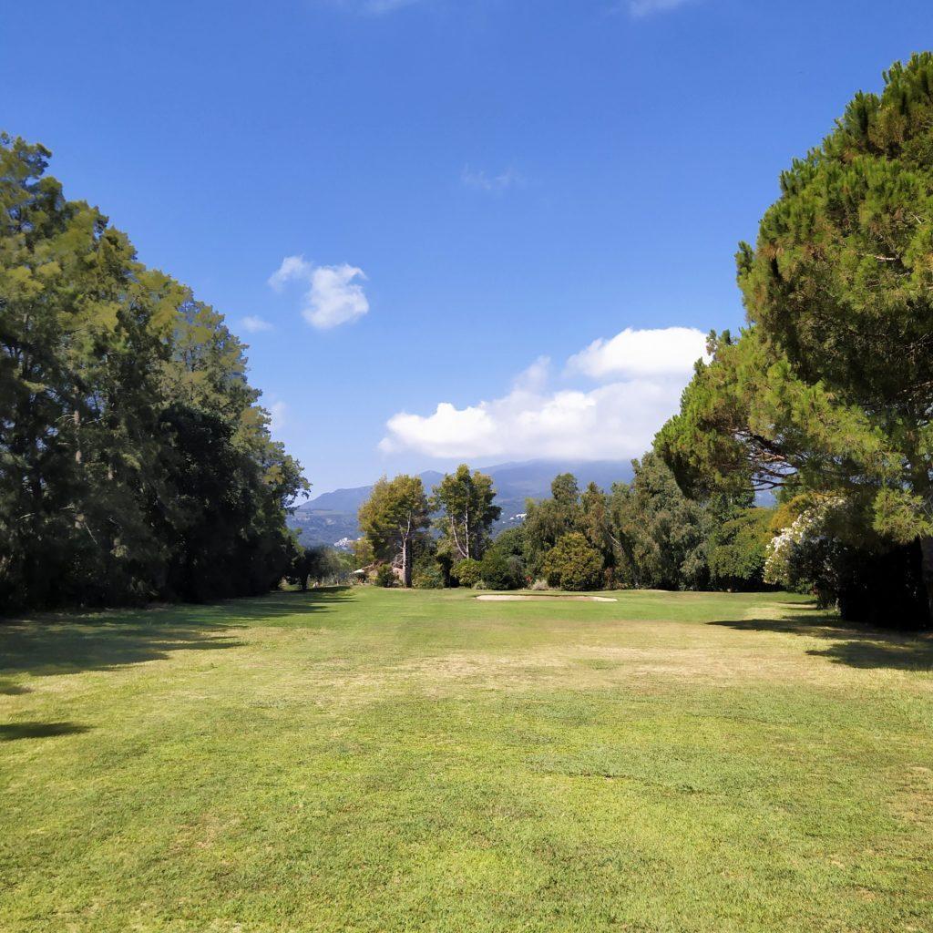 borgo golf club - trou numéro 2 - fandegolf.fr