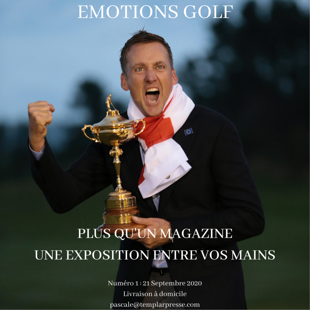 couverture magazine emotions golf - fandegolf.fr