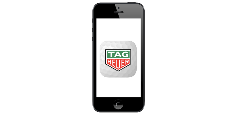 fandegolf.fr - application golf tag heuer - mise en avant