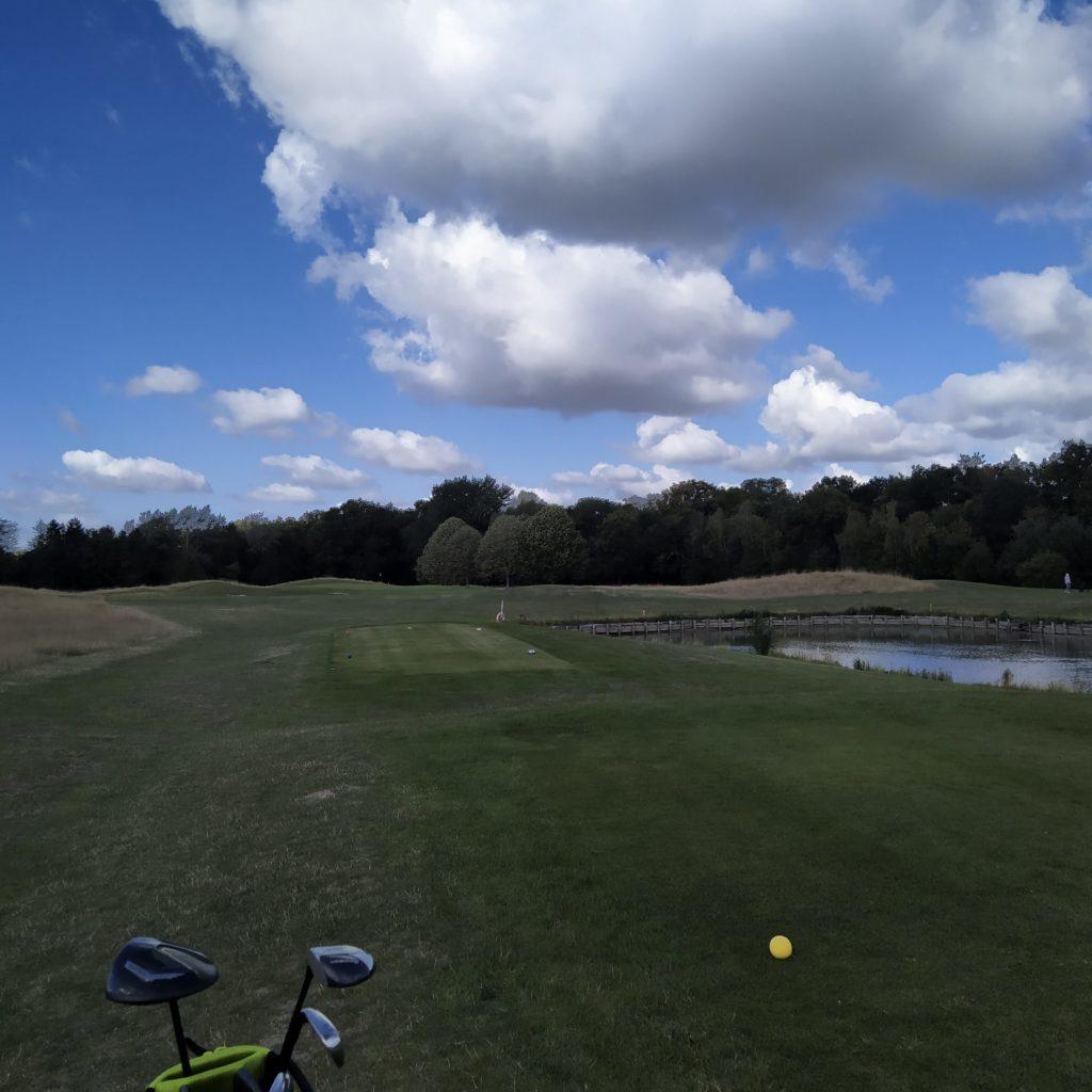 depart parcours de golf 18 trous - fandegolf.fr