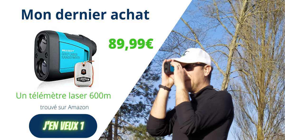 télémètre de golf - dernier achat - fandegolf.fr